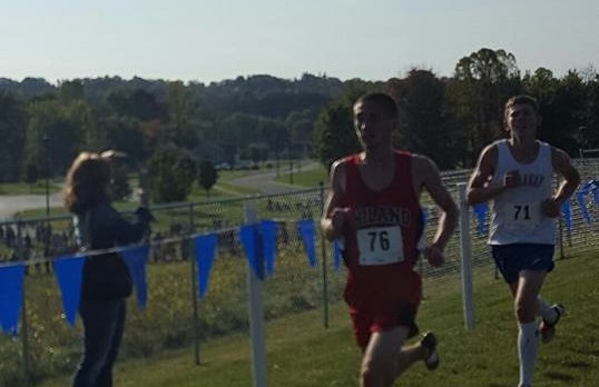 New Boys Cross Country Record