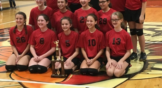 7th Volleyball IVC Champions
