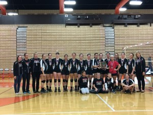 Volleyball District Runner-Up 2016
