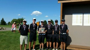 D3 Boys Golf Dist Runner-Up