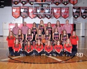 16-17 Varsity Girls Basketball