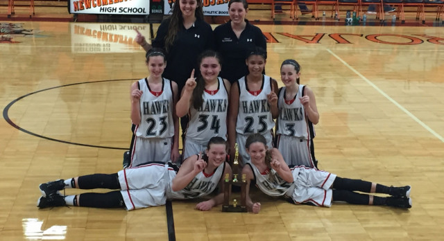 7th Lady Hawks Take IVC Tournament Championship