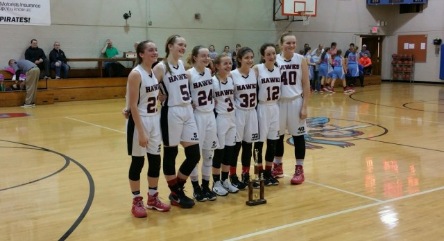 8th Lady Hawks Take IVC Championship