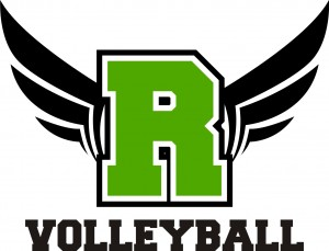 ROWAN COUNTY VOLLEYBALL SMALL LOGO
