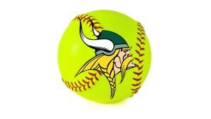 5a Viking Head Softball