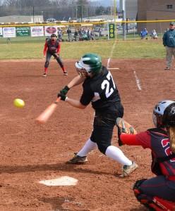 Courtnae Bolander softball 2