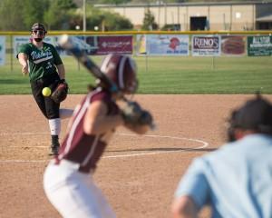 hammond softball pitch vs russell