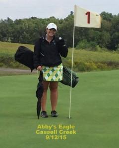 Girls Golf Abby's Eagle Cassell Creek