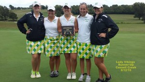 Girls Golf Cassell Creek Runner-Up