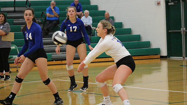 Lady Trojans Lose in Sectional Finals