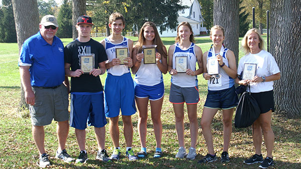 Runners Finish Second in the NCL Meet