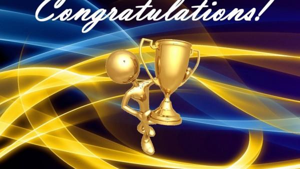 Congratulations..