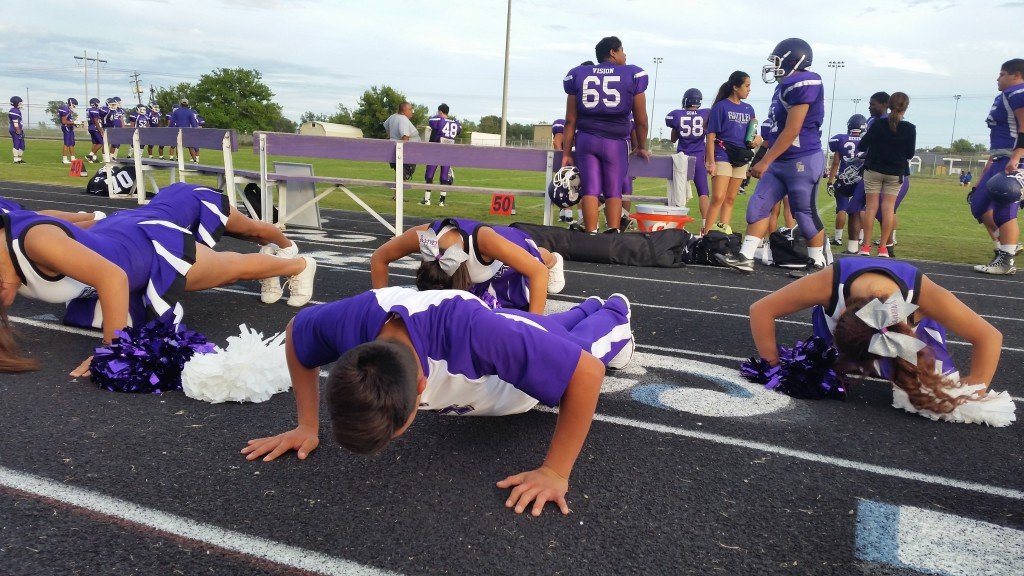 Our Traditional Football Push Ups