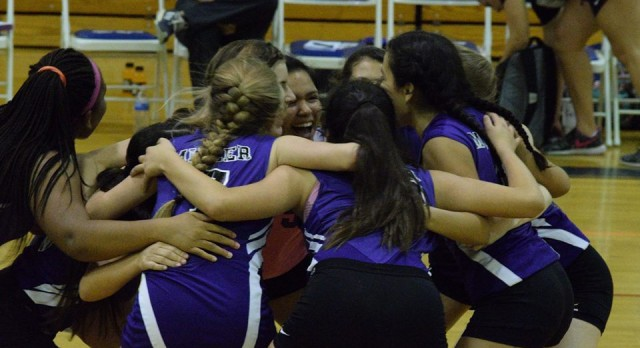 Miller Volleyball beat Wallace