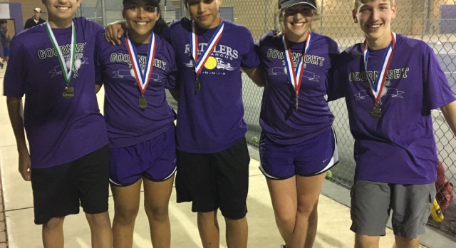 MS Tennis Rattler Tournament Results!!!