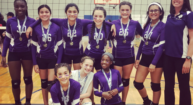 Miller Volleyball Making Strides at Hays County Cup