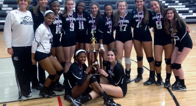 Warriors Volleyball Team wins 5th Annual City Championships