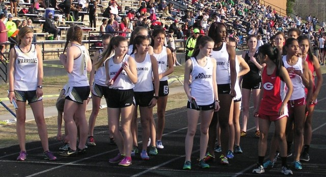 Track Starts Outdoor Season at West Hall