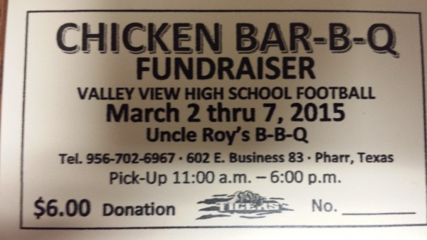 TIGER FOOTBALL FUNDRAISER - This is the home of valleyviewtigers1.com