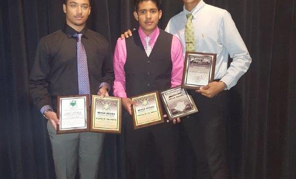 Baseball Players Earn Award Honors