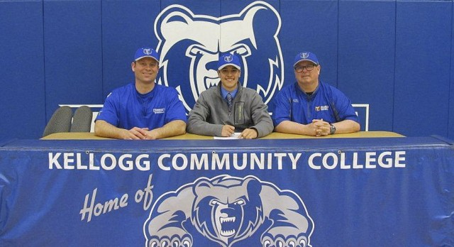 KCC Baseball Signs Senior Joseph Wolf