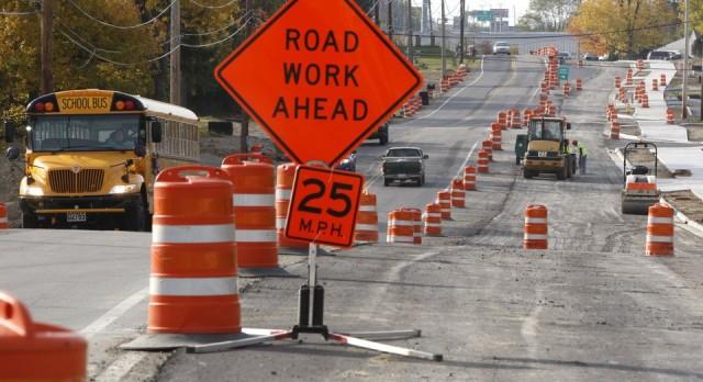 Dodge Park Rd. Construction