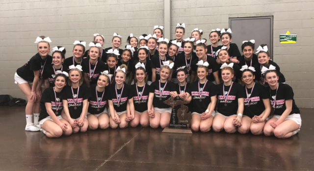 Competitive Cheer is State Runner-Ups!