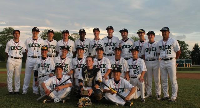 Baseball Wins District I-A Championship Over Delco