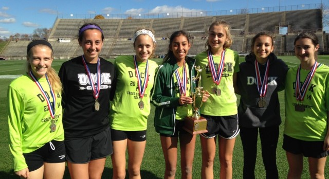 Girls XC Finishes 3rd at State Championships