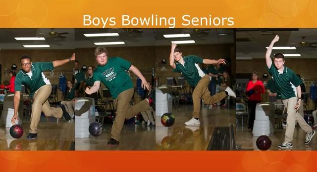 Boys Bowling Tops Jenkintown on Sr. Night