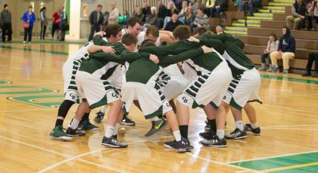 Boys Varsity Basketball Wins 2OT Thriller