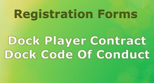 Dock Player Contract and Code of Conduct Forms