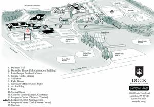 Longacre Gym Map