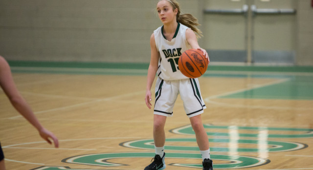 Girls Basketball Was Hitting On All Cylinders In Win Over Plumstead