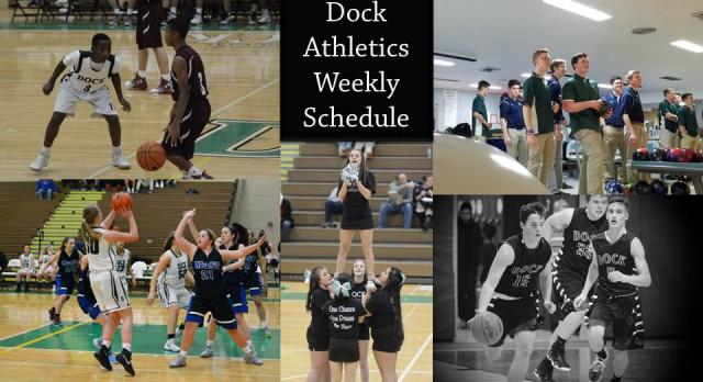 All Teams Schedule: Week of January 16-21