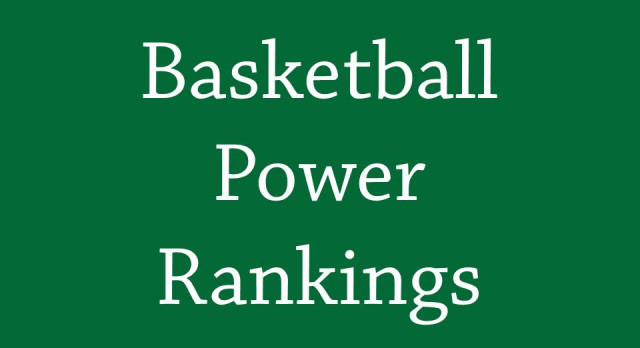 Basketball Power Rankings as of 2/5