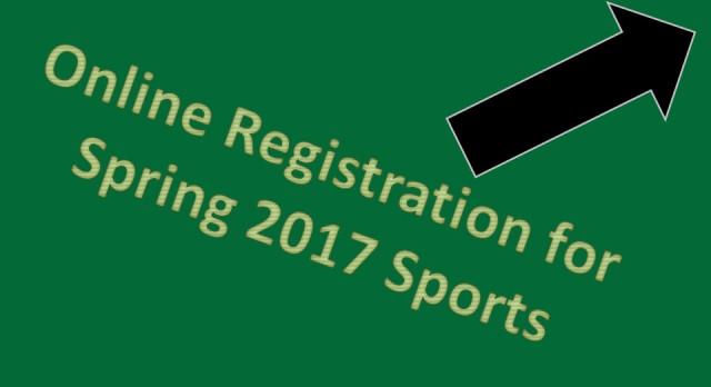 Spring Sport Online Registration Tutorial