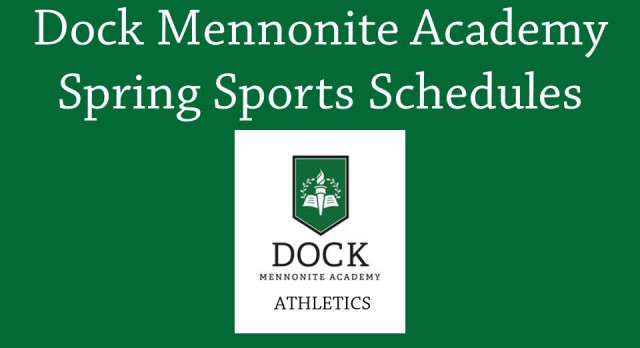 Spring Sports Schedules