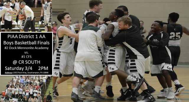 Boys Basketball District Final Set For Saturday 3/4