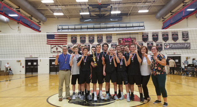 Dock Mennonite Academy Boys Volleyball Claims District Title