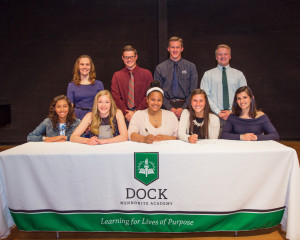 College Commitment Press Conference - 2017- Student-Athletes Picture