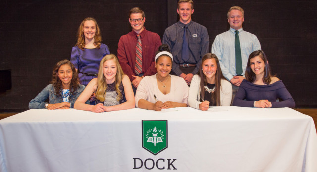Dock Mennonite Academy 2016-17 Student-Athlete College Commitment Press Conference