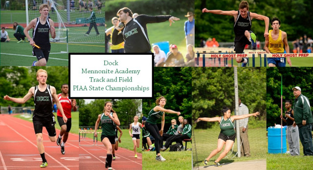 Dock Track and Field At PIAA State Championships