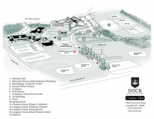 Campus Map HS-Baseball Field