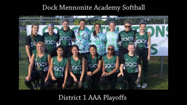 Softball District 1 AAA Playoff Promo
