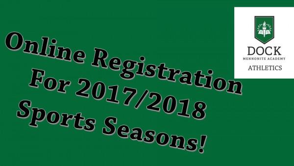 online registration 2017