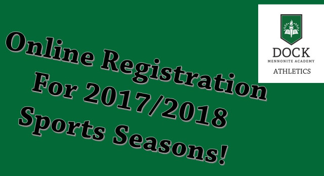 2017/2018 Online Athletics Registration
