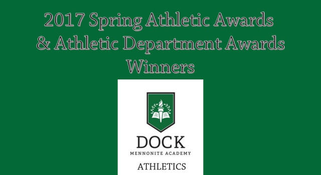2017 Spring Season and Athletic Department Awards