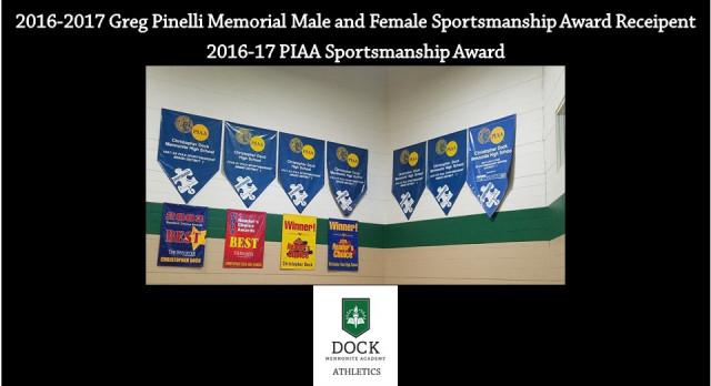 2016-2017 Sportsmanship Awards