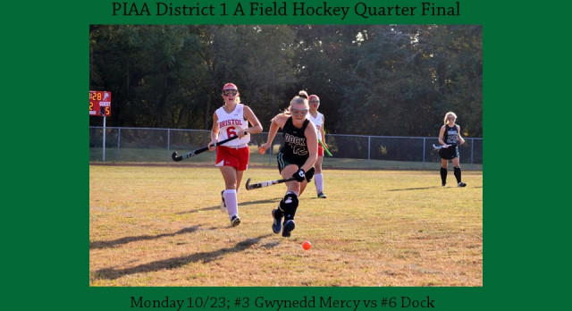 Dock Field Hockey District 1 A Quarter-Final
